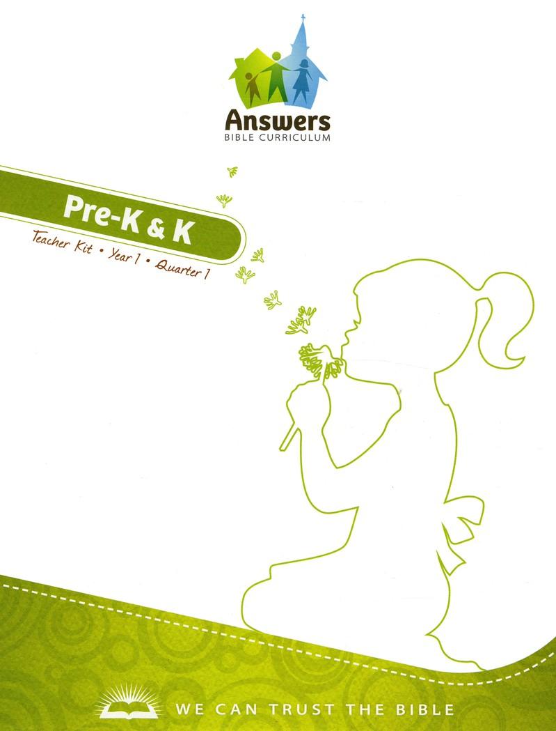 Answers Bible Curriculum PreK & K