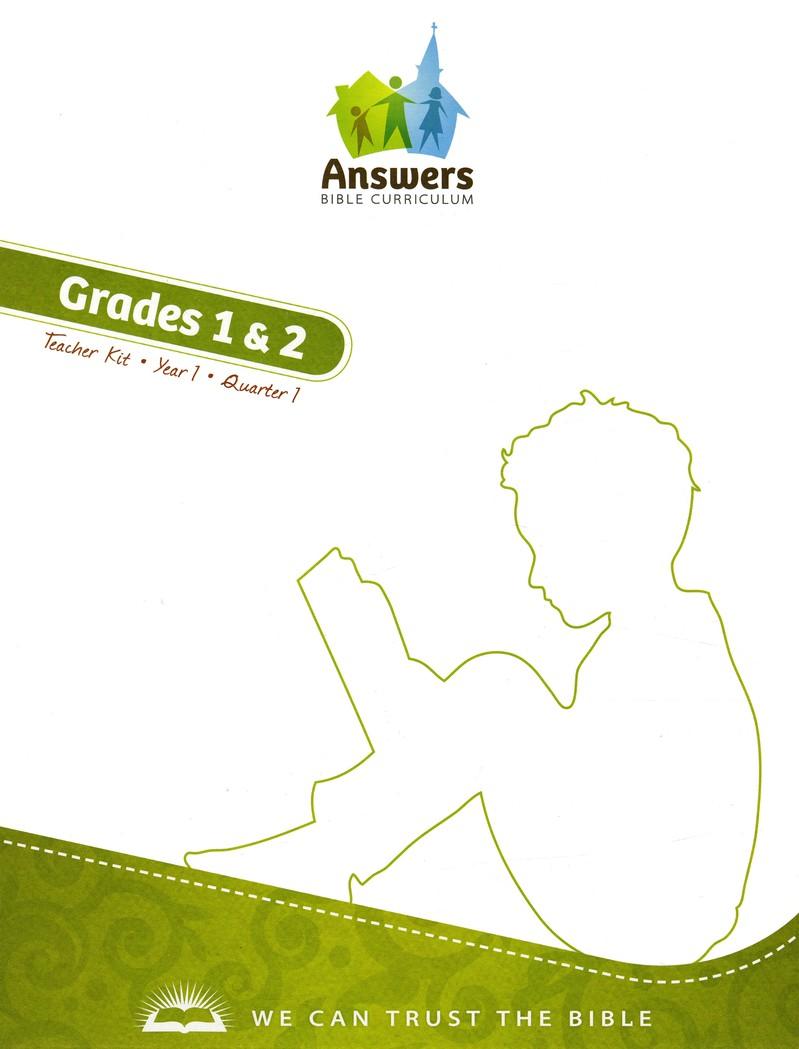 Answers Bible Curriculum Grades 1 & 2