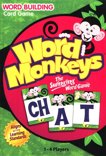 Word Monkeys: The Swinging Word Game
