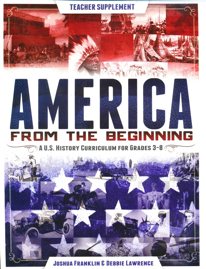America from the Beginning, Teacher Guide and CD-ROM