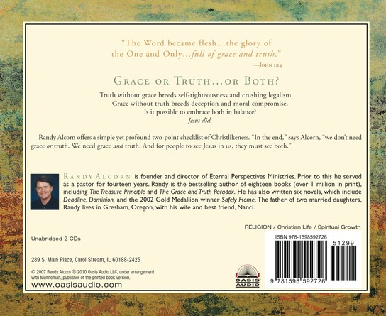 The Grace and Truth Paradox: Responding with Christlike Balance - audiobook on CD