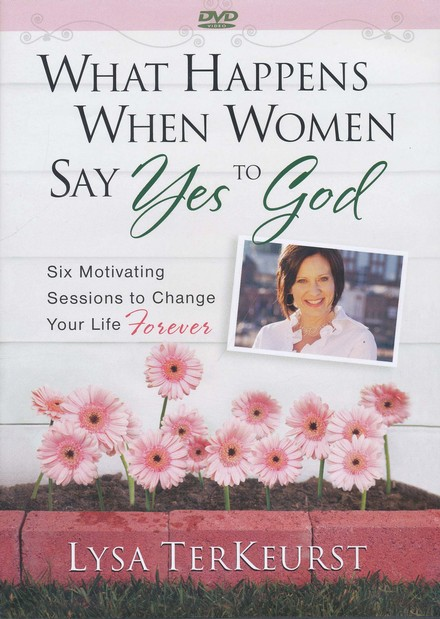 What Happens When Women Say Yes to God, DVD Leader's Kit