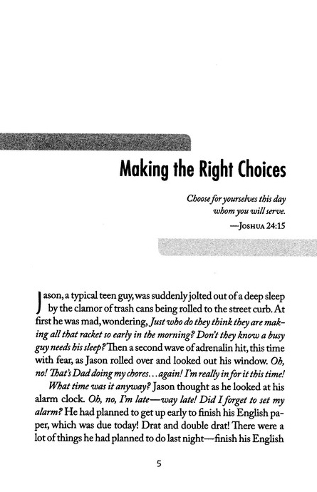 A Young Man's Guide to Making Right Choices: Your Life God's Way