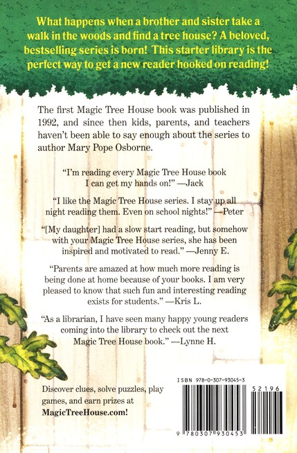 Magic Tree House: Starter Library Boxed Set