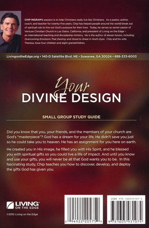Your Divine Design Study Guide