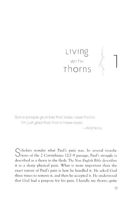 Living with Thorns: A Biblical Survival Guide