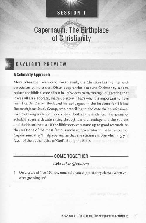 Jesus: Man, Messiah, Or More? (Participant Study Guide)