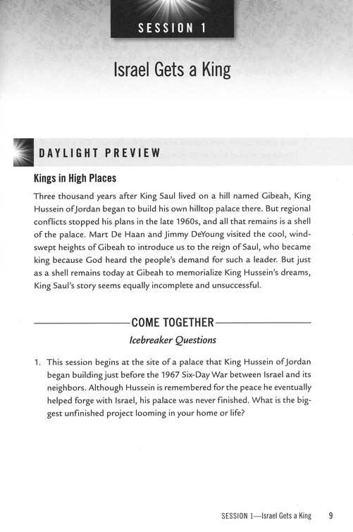 Chronicles Of Promise: The Legacies Of Israel's Three Kings - Study Guide