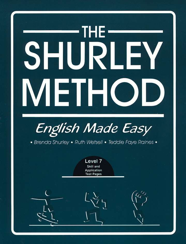 Shurley English Level 7 Student Test Workbook