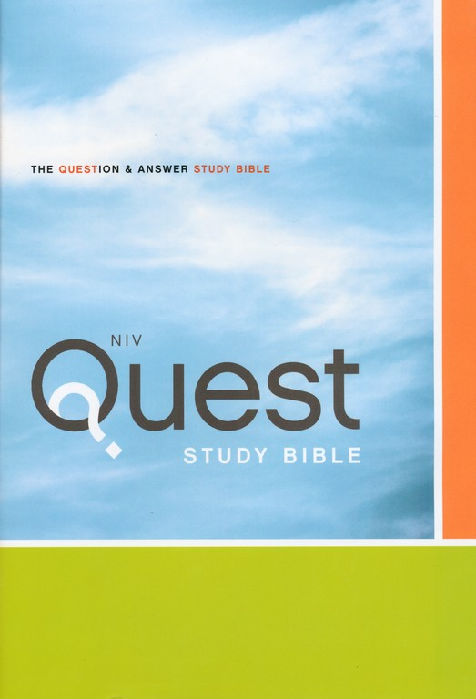 NIV Quest Study Bible: The Question and Answer Bible, Hardcover