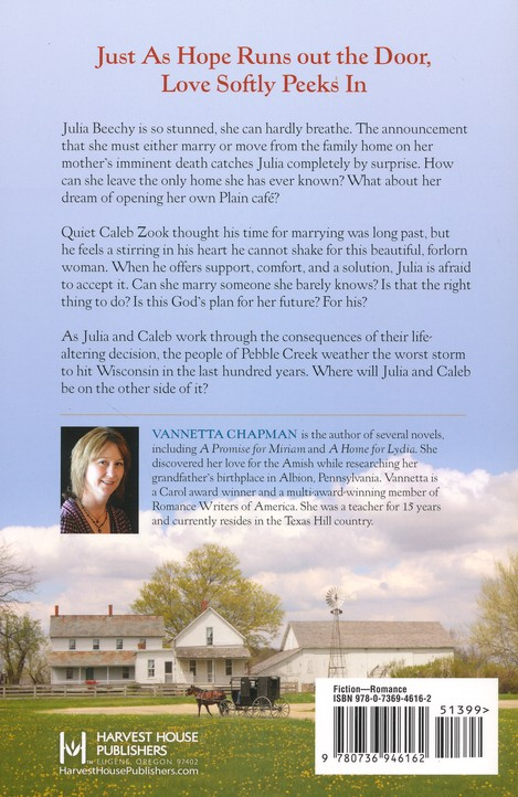 A Wedding for Julia, Pebble Creek Amish Series #3