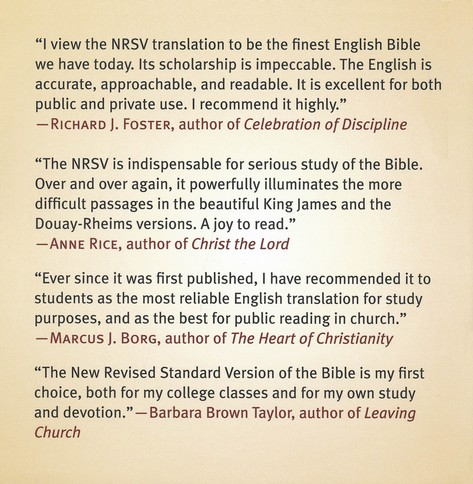 NRSV XL Bible with the Apocrypha, Imitation Leather,  burgundy