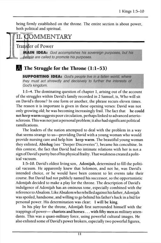 I&II Kings: Holman Old Testament Commentary [HOTC]