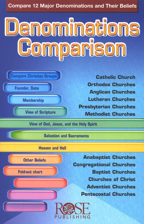 Denominations Comparison, Pamphlet