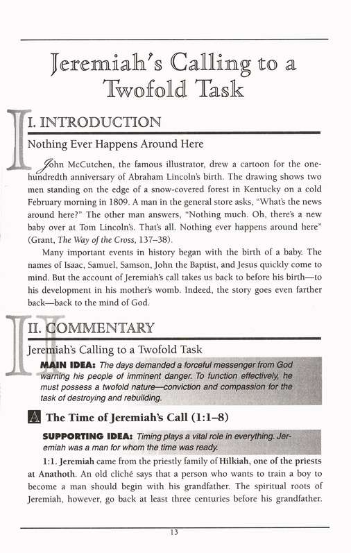 Jeremiah & Lamentations: Holman Old Testament Commentary [HOTC]