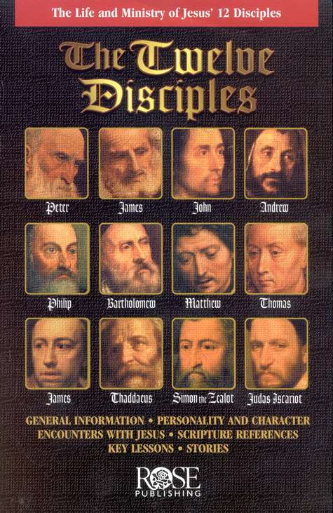 The Twelve Disciples Pamphlet