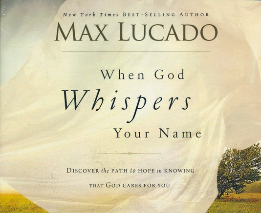 When God Whispers Your Name Unabridged Audio CD