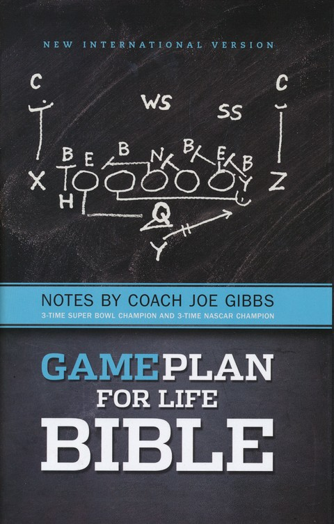 The Game Plan for Life Bible, NIV: Notes by Joe Gibbs