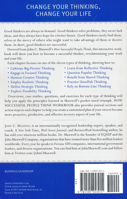 How Successful People Think--Workbook