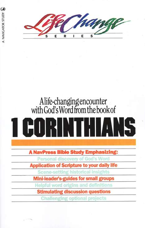 1 Corinthians, LifeChange Bible Study