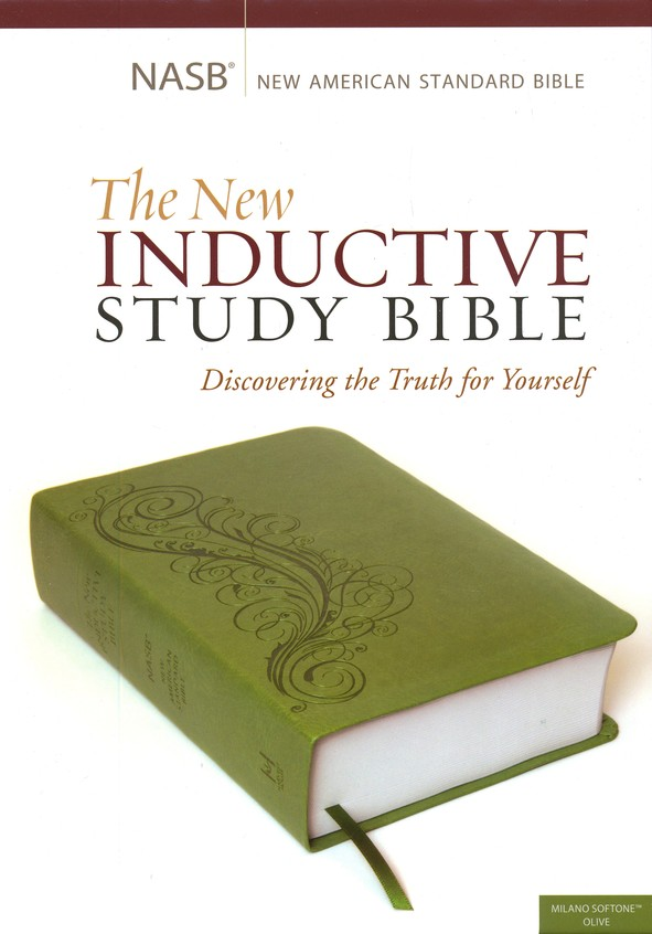 The NASB New Inductive Study Bible, Milano Softone, Green