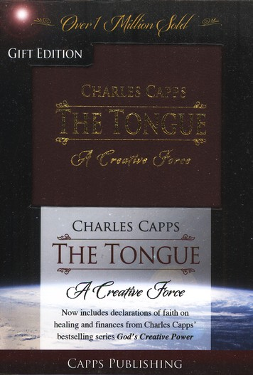 The Tongue: A Creative Force, Gift Edition