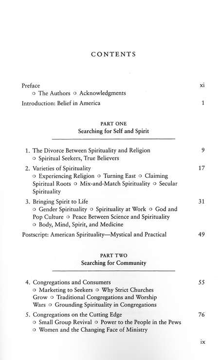 Shopping for Faith: American Religion in the New Millennium
