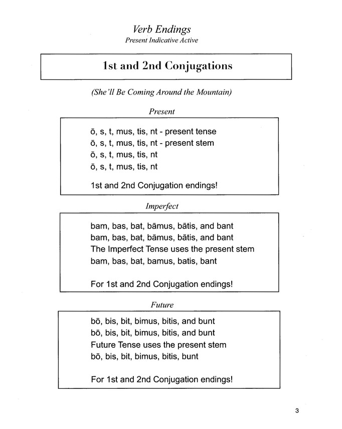 Latin Grammar Songs--Book and CD
