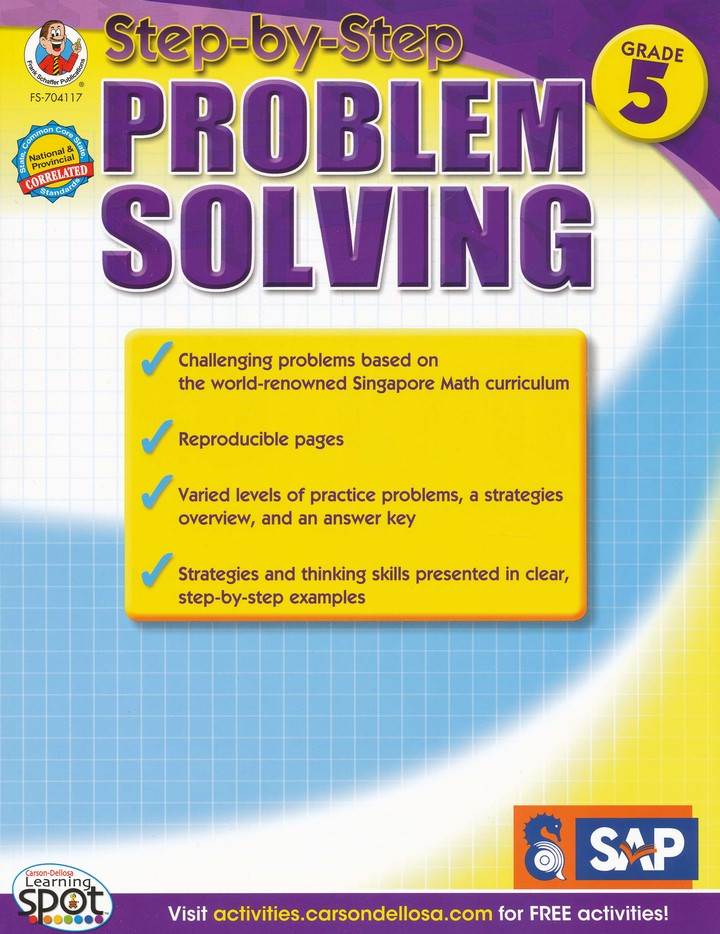 Step-by-Step Problem Solving Level 4, Grade 5