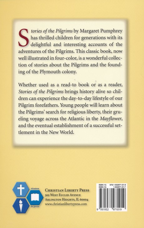 Stories of the Pilgrims, Second Edition, Grade 4