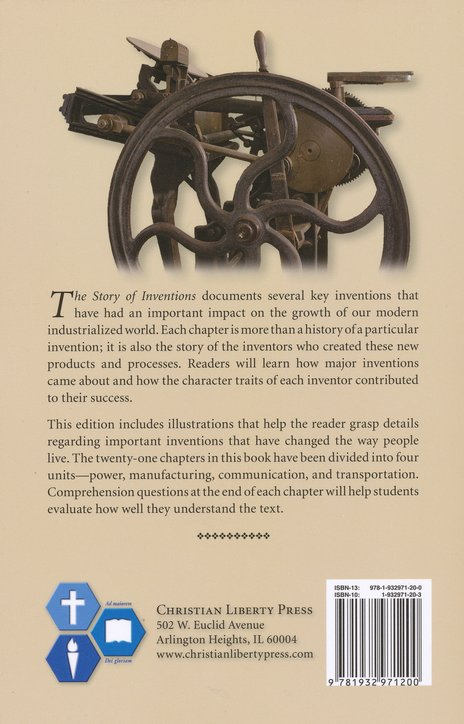 The Story of Inventions, Second Edition