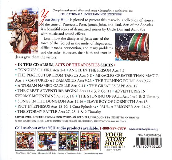 Acts of the Apostles - Audiobook on CD