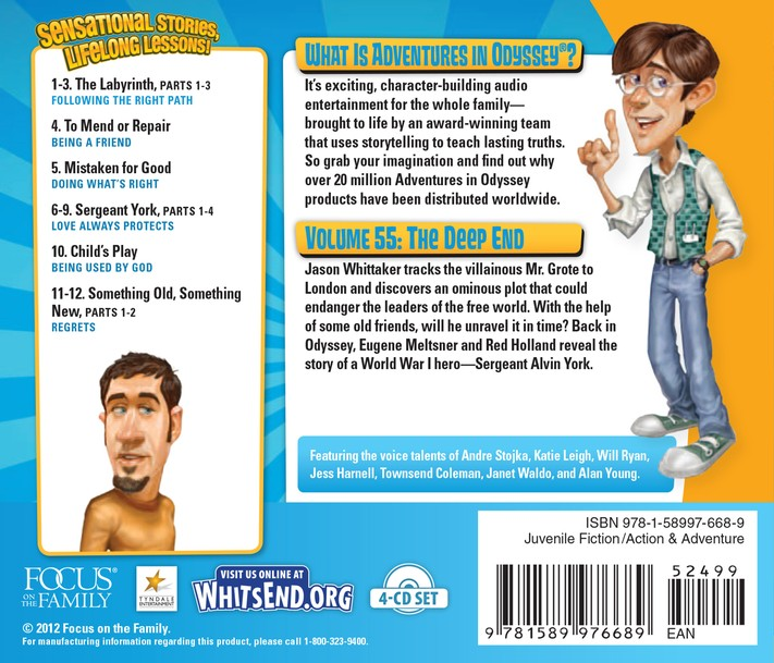Adventures in Odyssey ® #55: The Deep End