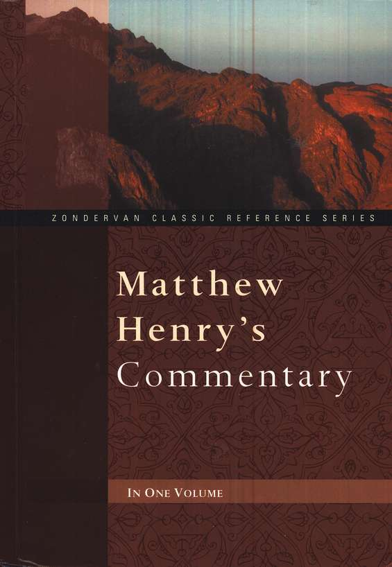 Matthew Henry's One-Volume Commentary