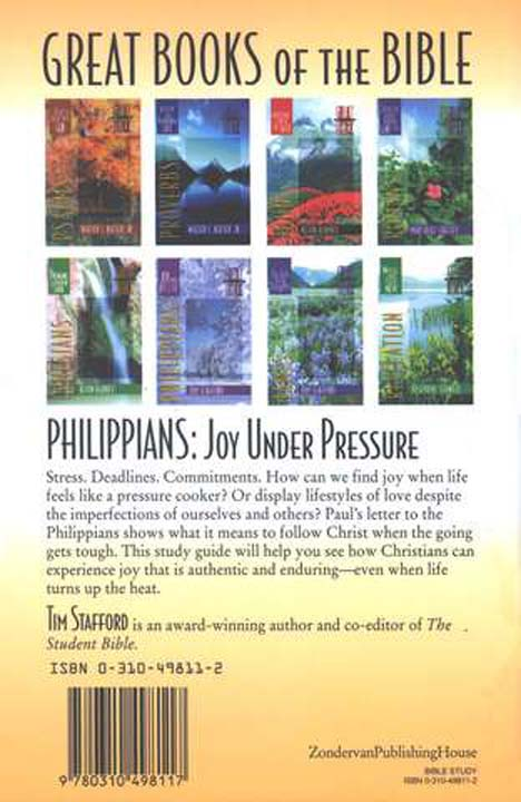 Philippians: Joy Under Pressure, Great Books of the Bible Series