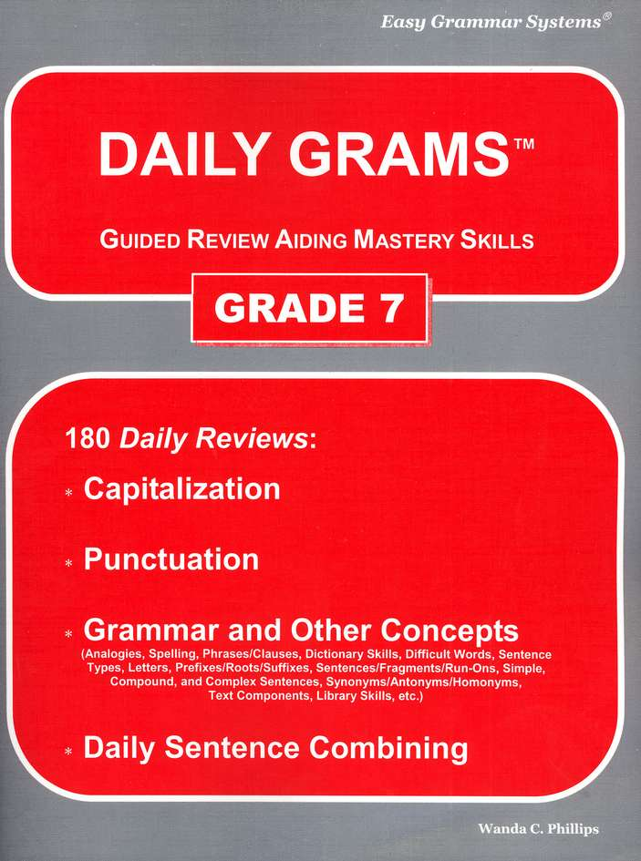 Daily Grams Grade 7