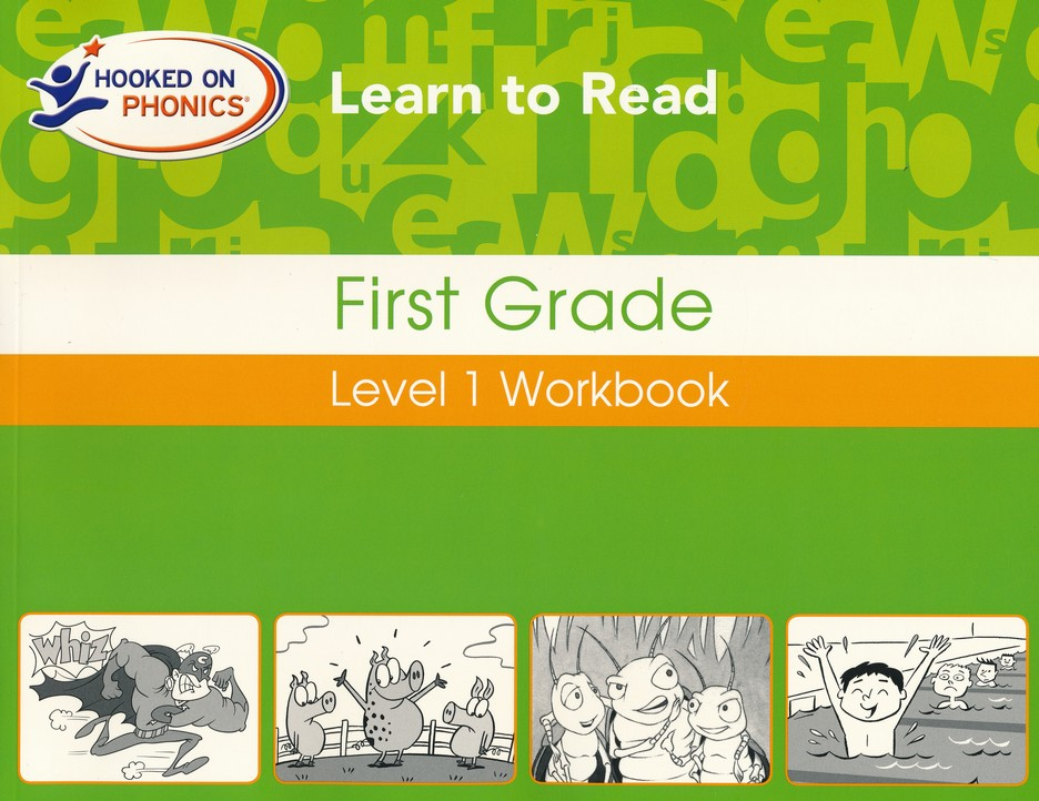Hooked On Phonics: Learn To Read First Grade Level 1