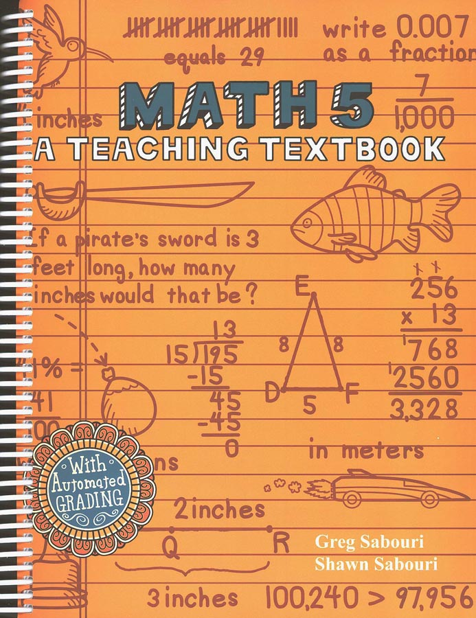 Teaching Textbooks Math 5 Kit (Windows & Macintosh)