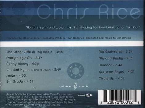 Run the Earth, Watch the Sky, Compact Disc [CD]