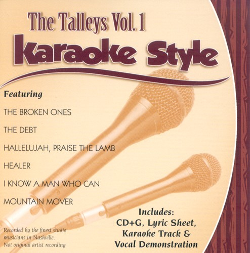The Talleys, Volume 1, Karaoke Style CD
