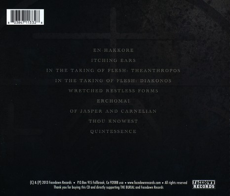 In the Taking of Flesh CD