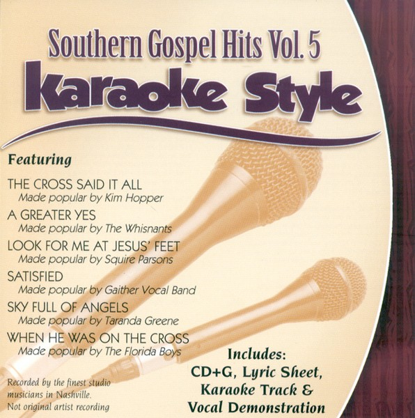 Southern Gospel Hits, Volume 5, Karaoke Style CD