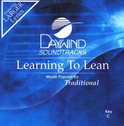 Learning to Lean, Accompaniment CD