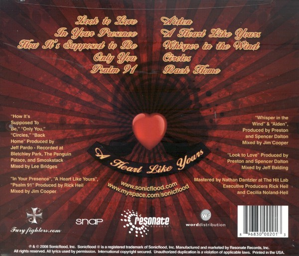 A Heart Like Yours CD