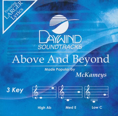 Above And Beyond, Accompaniment CD