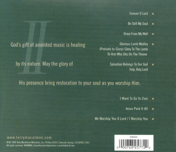 Instrumental Worship II CD