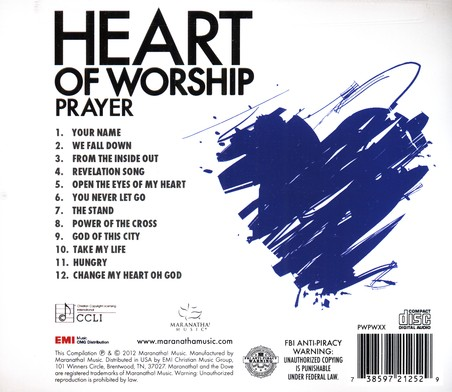 Heart of Worship- Prayer