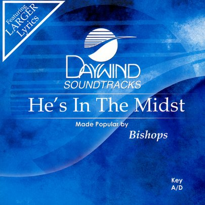 He's In the Midst, Accompaniment CD