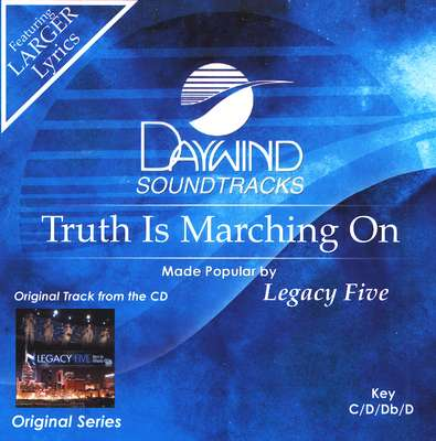 Truth Is Marching On, Accompaniment CD