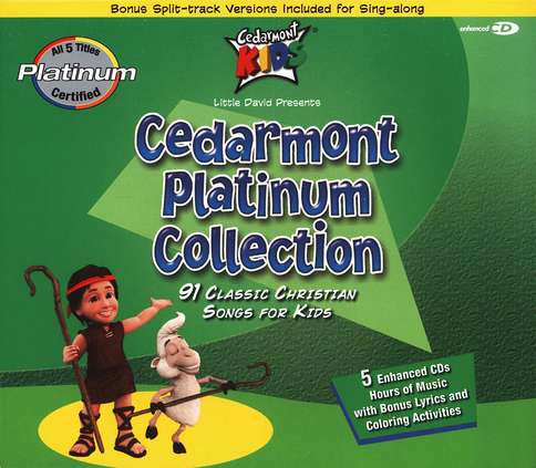 Cedarmont Platinum Collection, 5 CD Set
